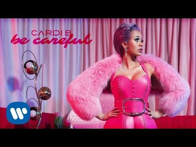画像: Cardi B - Be Careful [Official Audio] youtu.be