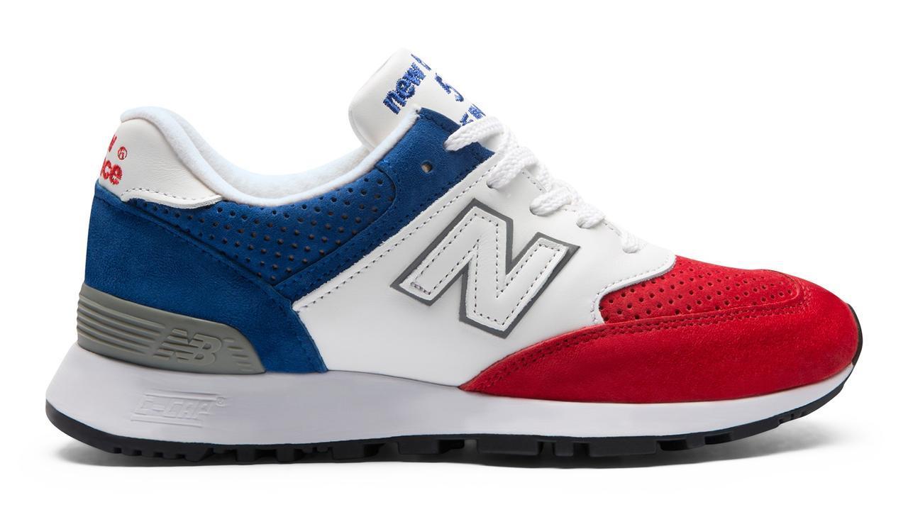 画像: 商品名:W576RBW カラー:RED/BLUE サイズ(ウイズ/センチ): B/22.0~25.0cm 価格:28,000円(税抜)