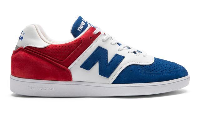 画像: 商品名:CT576RBW カラー:RED/BLUE サイズ(ウイズ/センチ): D/23.0~29.0,30.0cm 価格:26,000円(税抜)