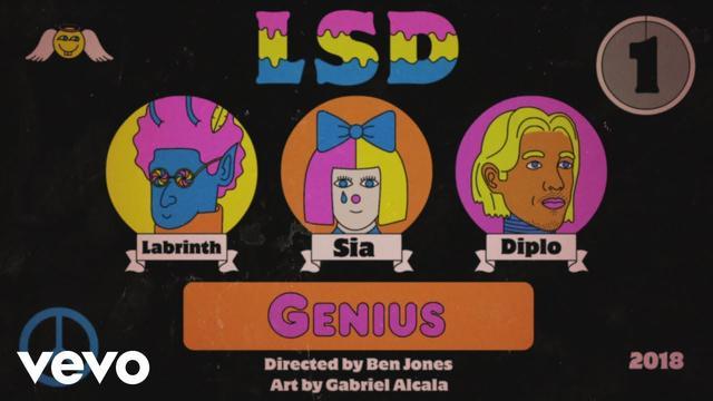 画像: LSD - Genius ft. Sia, Diplo, Labrinth www.youtube.com