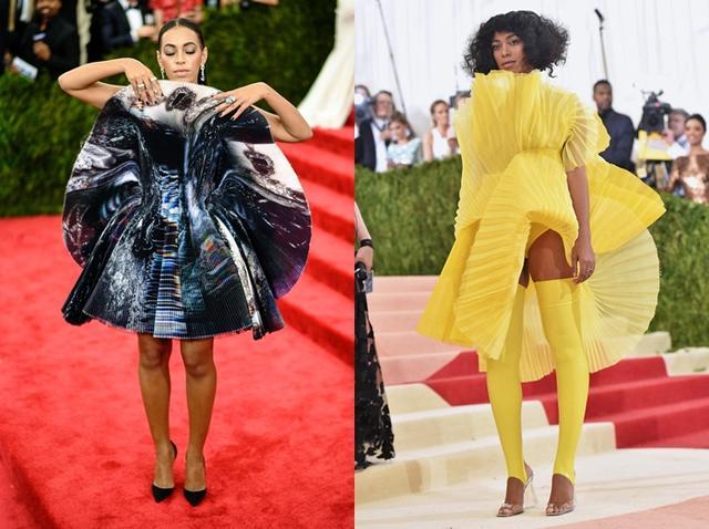 画像: 左から2015年、2016年の装い。