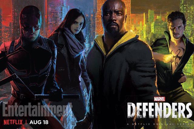 画像1: The DefendersさんはInstagramを利用しています:「New official promo poster #TheDefenders」 www.instagram.com