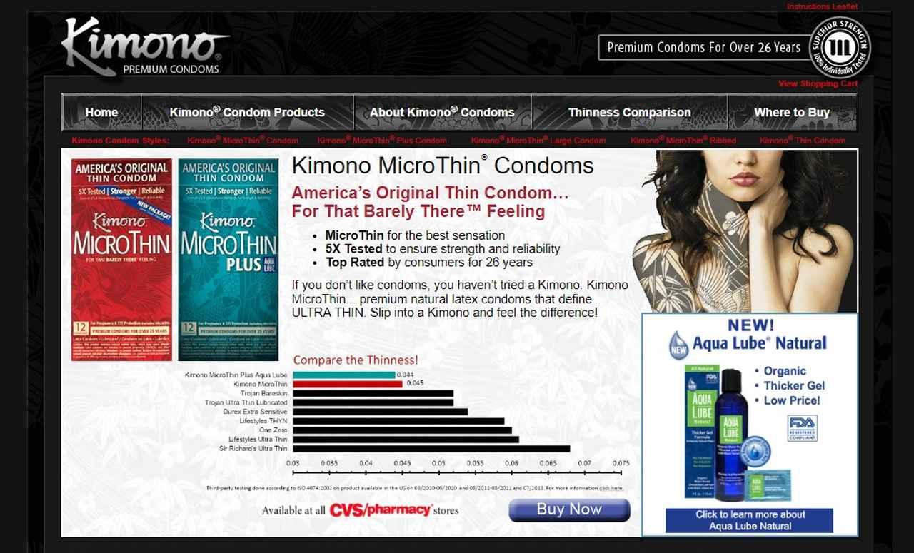 画像: ©Kimono Premium Condoms kimono-condoms.com