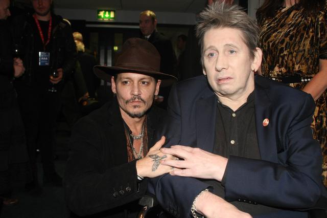 画像: ジョニー・デップ、2018年1月にミュージシャンのショーン・マッゴーワンの誕生日イベントに出席した際の写真。