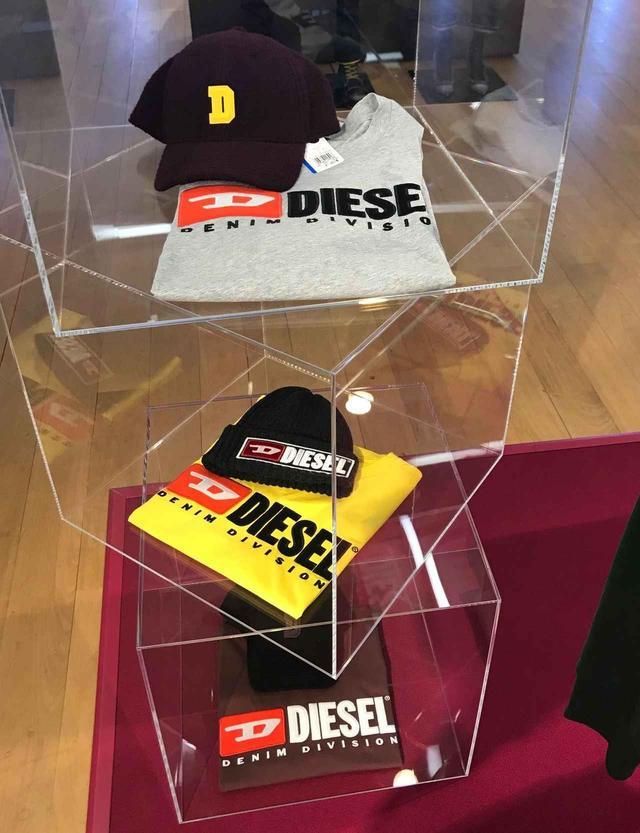画像12: ディーゼル展示会、最速レポ!注目はワイドデニムとロゴアイテム!!