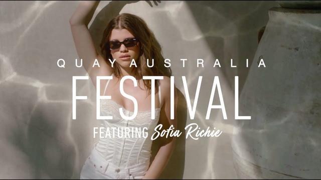 画像: Quay Festival featuring Sofia Richie youtu.be