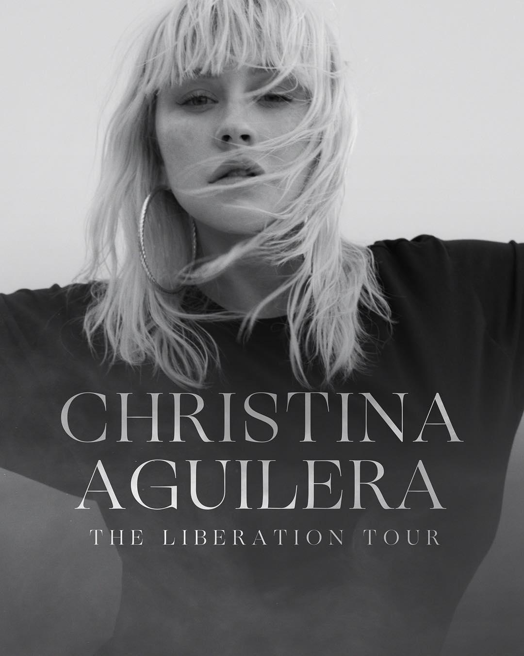 画像1: Christina AguileraさんはInstagramを利用しています:「THE LIBERATION TOUR Tickets on sale May 18  christinaaguilera.com」 www.instagram.com