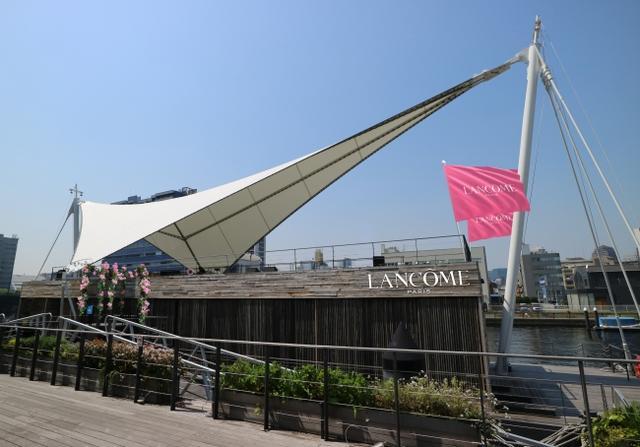 画像1: ランコムが新作ファンデ発売を記念して、一般公開船上ティーパーティー