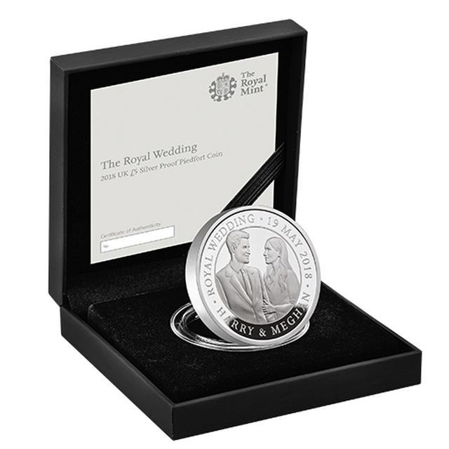 画像1: 5ポンドピエフォー銀貨