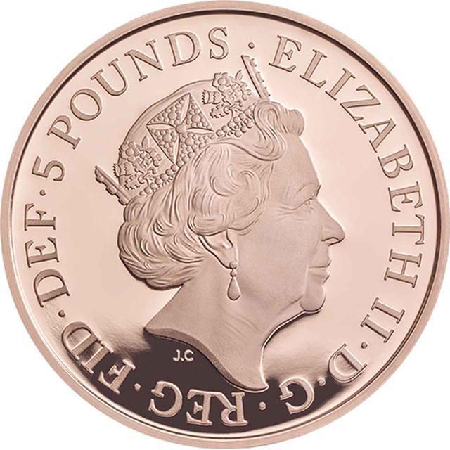 画像2: 5ポンド金貨