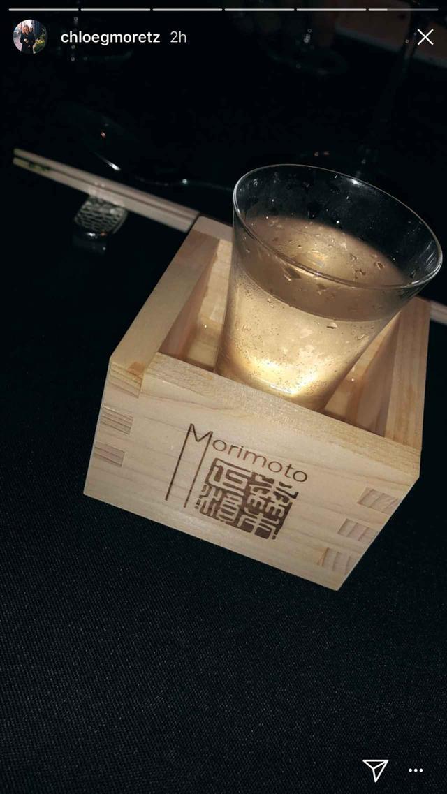 画像3: 昨晩は和食&日本酒に舌鼓
