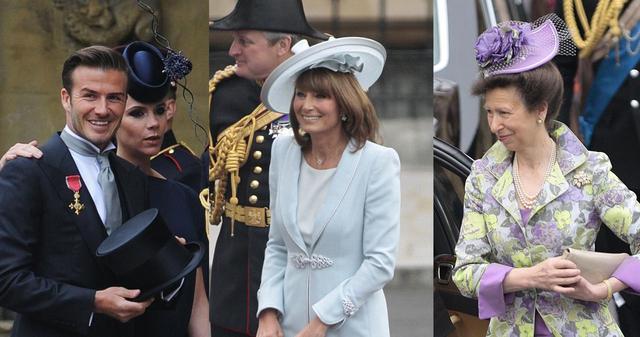 画像: キャサリン妃の結婚式の時も、ヴィクトリア・ベッカムをはじめ参加者の女性はみんな帽子を身に着けていた。