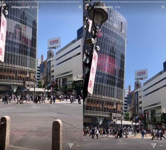 画像: さっそく日本を満喫