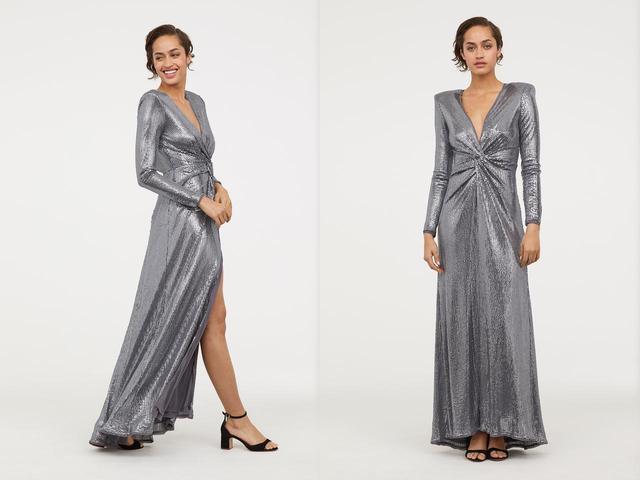 画像: ヘイリー・ボールドウィン、パーティに着用したのはH&Mのドレス!日本でも購入可