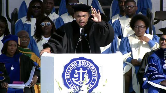 画像: Chance the Rapper's Dillard Commencement Speech www.youtube.com