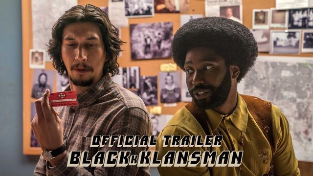 画像: BLACKkKLANSMAN - Official Trailer [HD] - In Theaters August 10 www.youtube.com