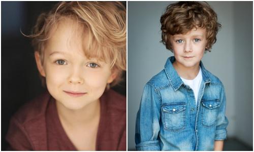 画像: 「ピーター・パン」に登場するフック船長の手下、スミーの双子の息子(左)クリスチャン・コンバリー(スクイーキー)、(右)ルーク・ロースラー(スクワーミー)©Disney