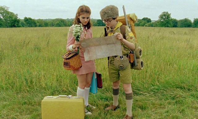 画像: ちょっぴり背伸びしている少年と少女が駆け落ちする様子を描く『ムーンライト・キングダム』。