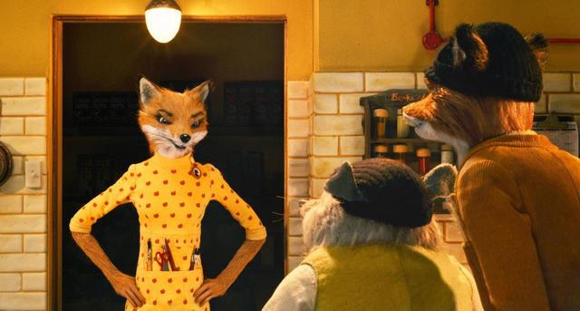 画像: 泥棒のお父さんキツネが率いる動物たちと、人間たちとの戦いをシュールな笑いと共に描いた『ファンタスティック Mr.FOX』。