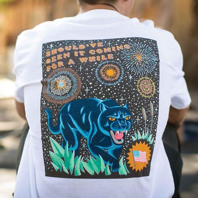 画像: Blue Panther T-Shirt 4,800円(税抜)