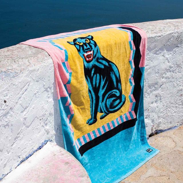画像: Luke Pelletier Panther Towel 5,800円(税抜)