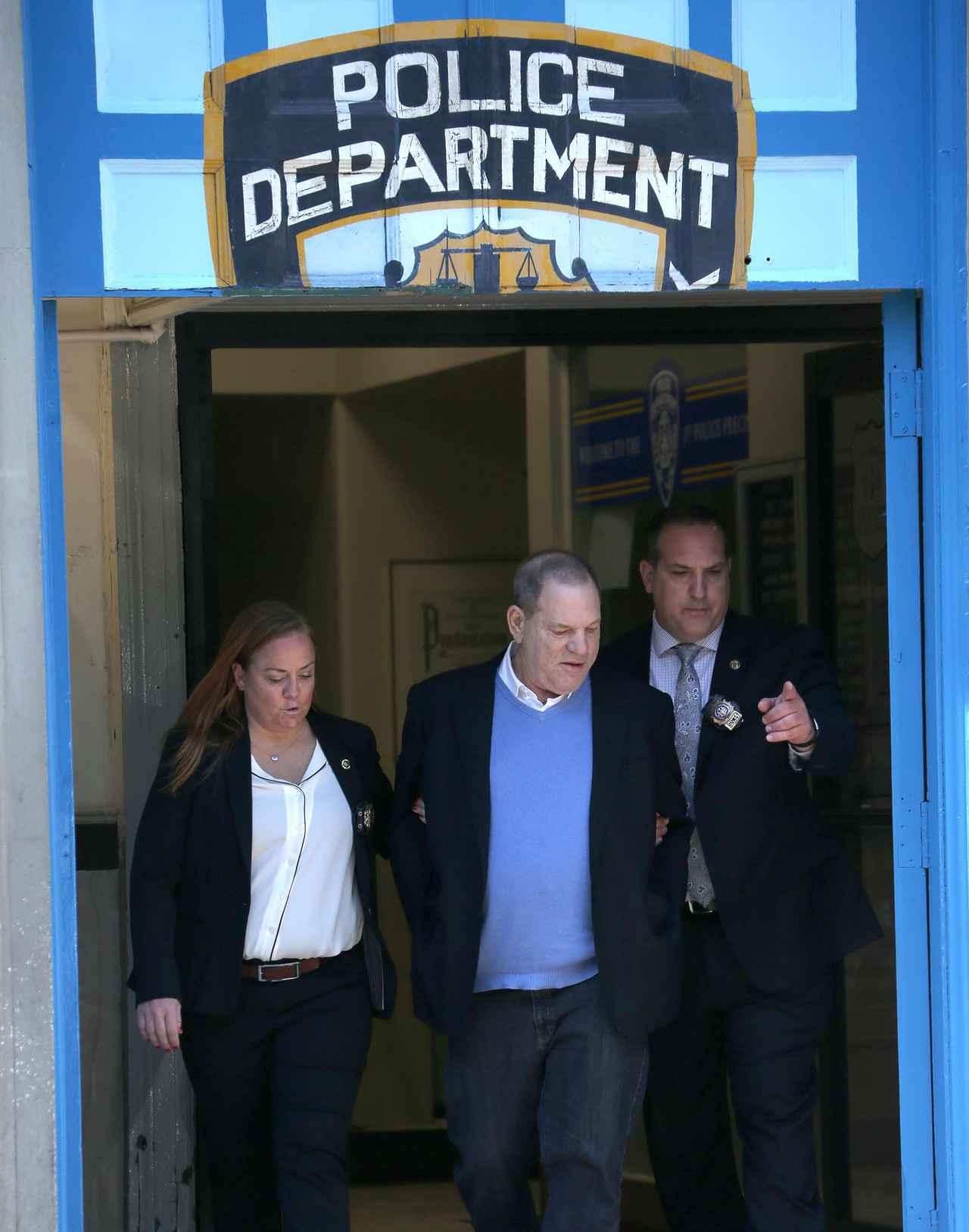 画像: セクハラ騒動の元凶ハーヴェイ・ワインスタインの逮捕にセレブたちが反応