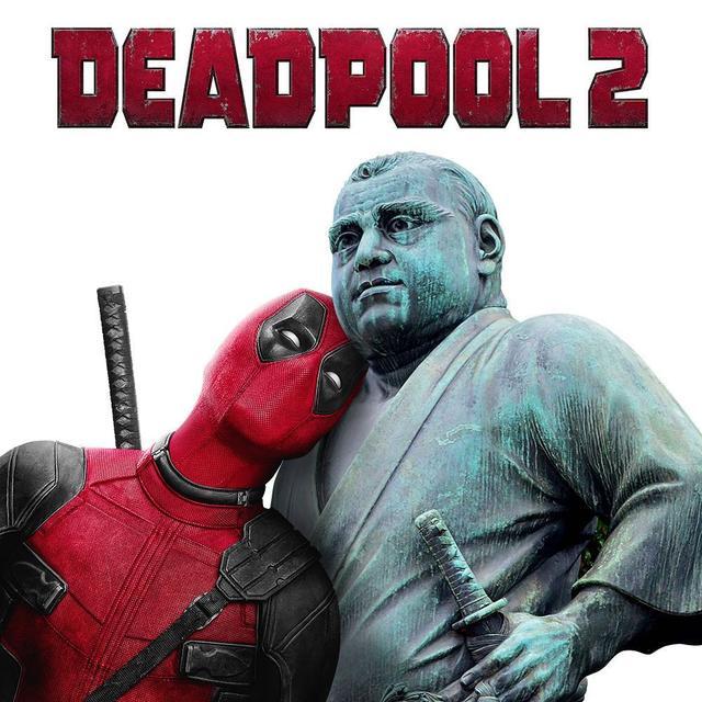画像1: Ryan ReynoldsさんはInstagramを利用しています:「Hide your children. On my way to Japan! #デッドプール #deadpool2  」 www.instagram.com