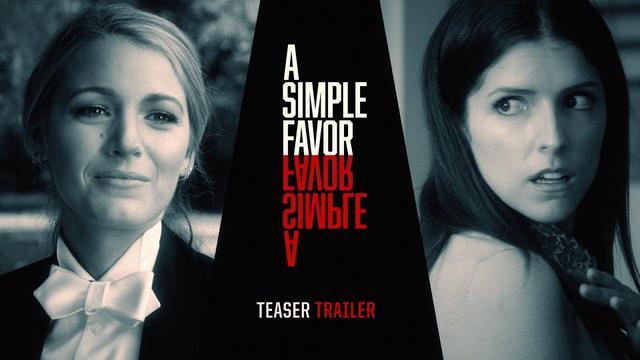 """画像: A Simple Favor (2018 Movie) Teaser Trailer #2 """"Tell Me Your Secret"""" – Anna Kendrick, Blake Lively www.youtube.com"""