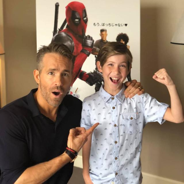 画像1: Jacob TremblayさんはInstagramを利用しています:「I FOUND HIM!!! If you can believe it you can achieve it!!! #TheHuntForDeadpool #MissionAccomplished Thanks @VancityReynolds you are the…」 www.instagram.com