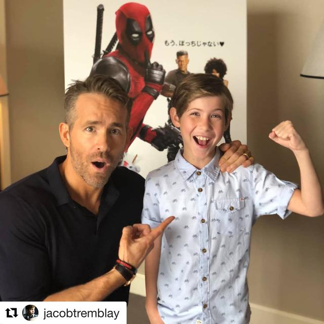 画像1: Ryan ReynoldsさんはInstagramを利用しています:「Vancouver is alive and well in the heart of Tokyo. Call the search off. We found each other. #YVR  #Repost @jacobtremblay ・・・ I FOUND…」 www.instagram.com