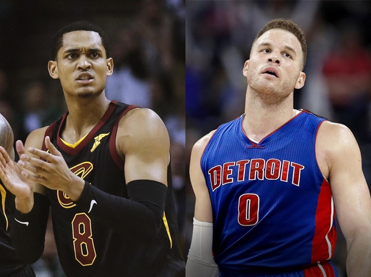 画像: 過去にケンダルとの交際を報じられた、NBA選手のジョーダン・クラークソン(左)とブレイク・グリフィン(右)。