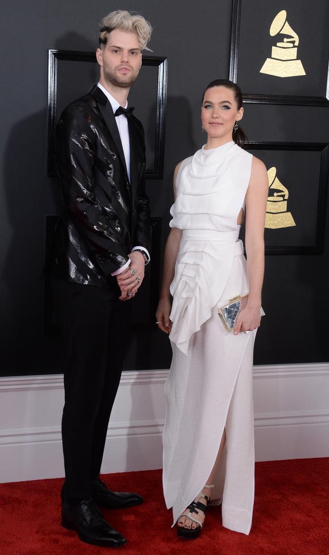 画像: ソフィー・タッカー、ベストダンス・レコーディング賞にノミネートされた2017年の第59回グラミー賞にて。