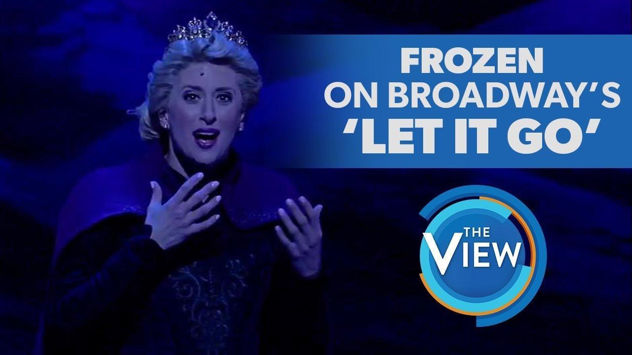 画像: Frozen The Broadway Musical's Caissie Levy Performs 'Let It Go' www.youtube.com