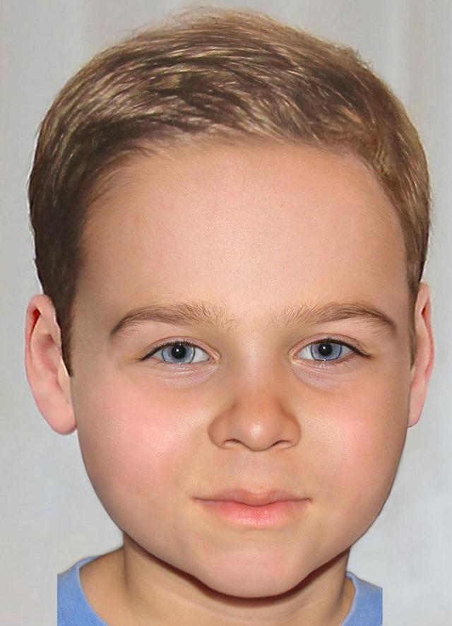 画像: ルイ王子が大きくなったらこんな顔?