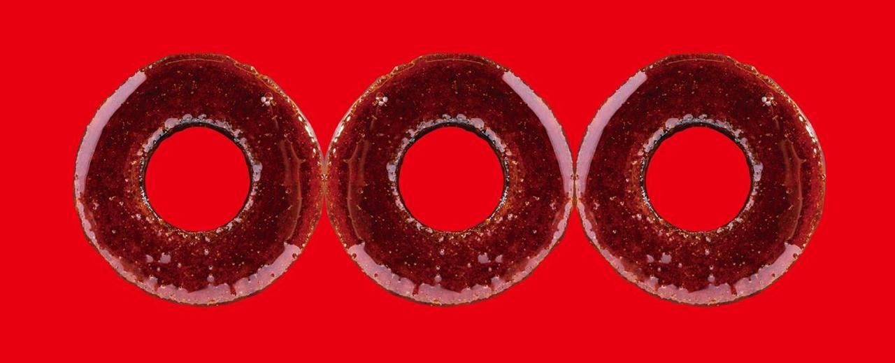 画像2: 果肉の赤いりんごのバウムクーヘンが発売