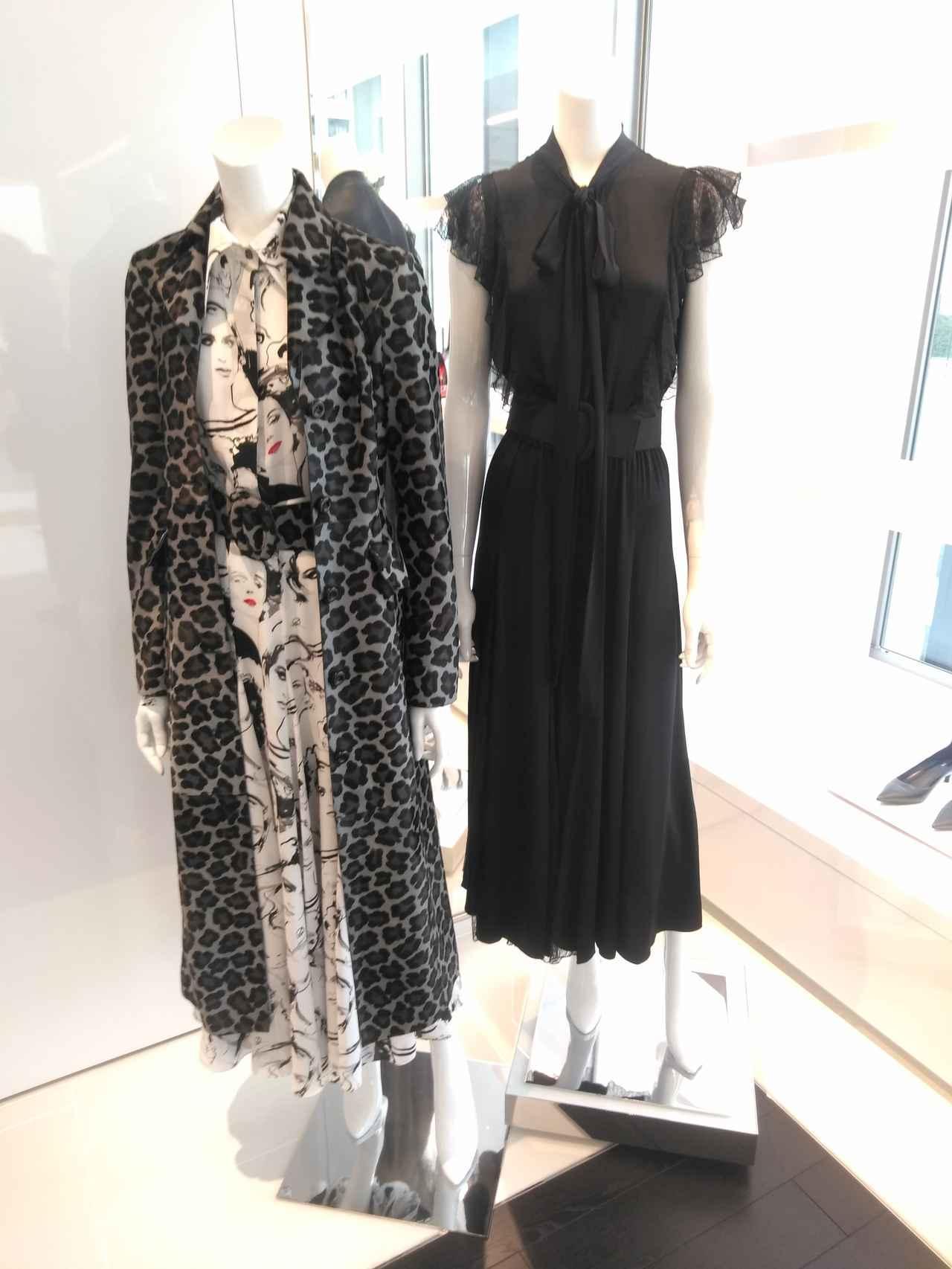 画像: イラストが全面に配されたドレス 32万4,000円 ※すべて参考価格