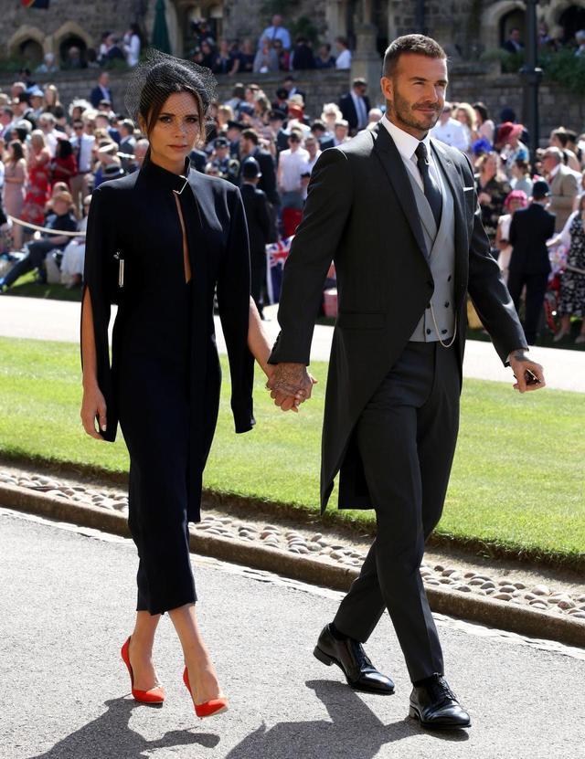 画像: 5月に行われた英ヘンリー王子&メーガン妃のロイヤルウェディングにそろって出席した2人。