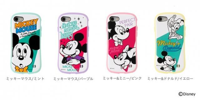 画像: [iPhone 8/7専用]ミッキーマウス/Beyond Imagination/ディズニーキャラクターiFace First Class Pastelケース 価格 : 3,700円(税込3,996円)