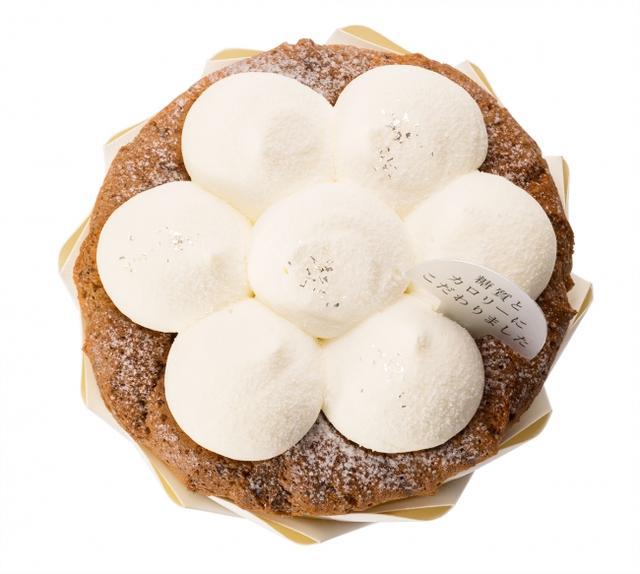 """画像1: 糖質とカロリーにこだわった""""紅茶のシフォン""""が洋菓子「銀のぶどう」から発売"""