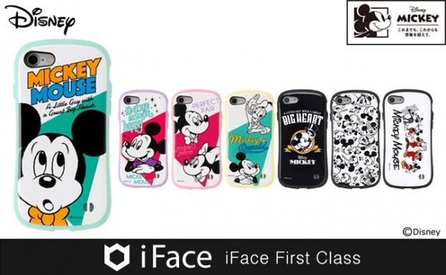 画像: ミッキーマウスiPhoneケース、歴代のミッキーが並んだデザインなど