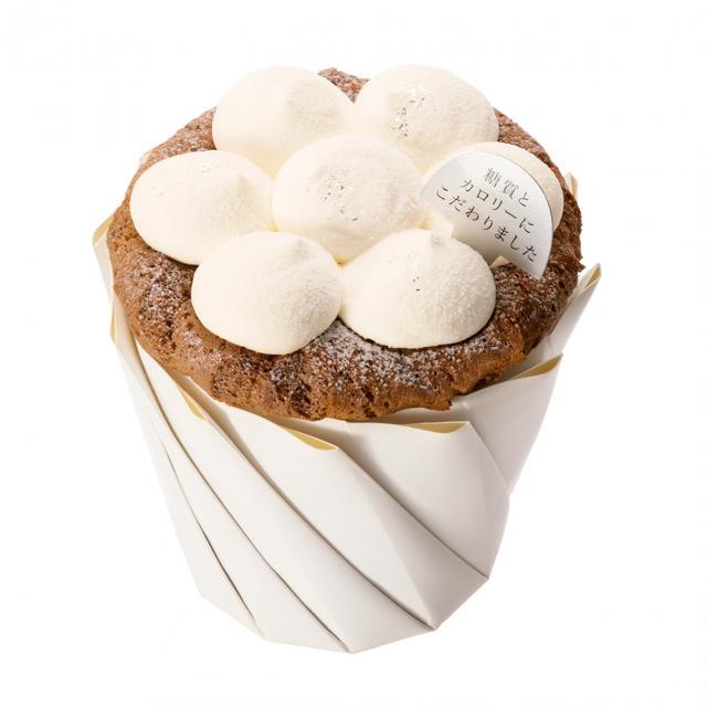 """画像3: 糖質とカロリーにこだわった""""紅茶のシフォン""""が洋菓子「銀のぶどう」から発売"""