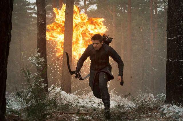画像: 弓の名手のホークアイは、アベンジャーズのなかでは珍しく超能力を持たないキャラクター。