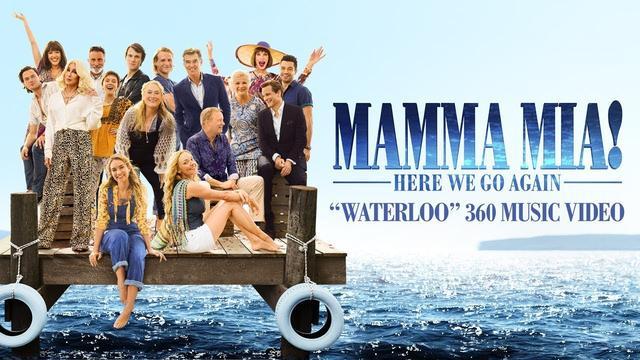 画像: Mamma Mia! Here We Go Again - Waterloo 360 Music Video www.youtube.com