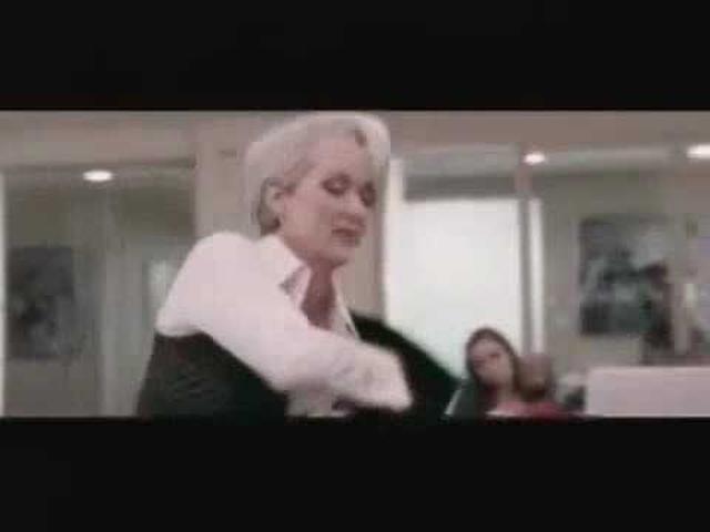 画像: The Devil Wears Prada Scene Coat Montage www.youtube.com