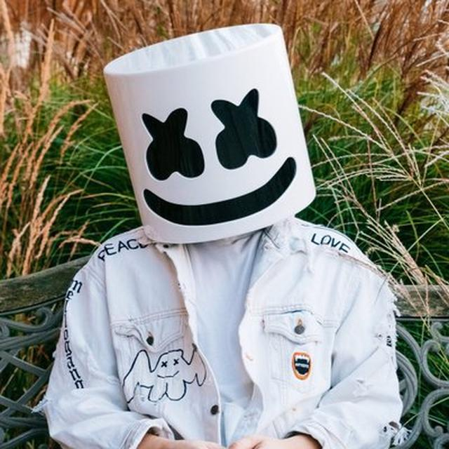画像: marshmello on Twitter twitter.com
