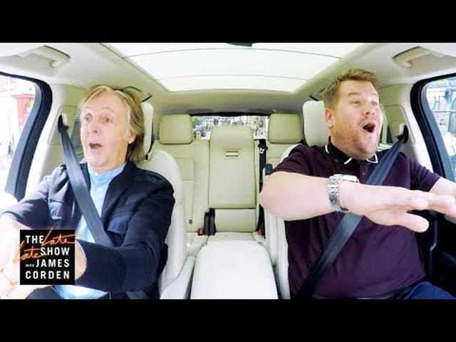 画像: Paul McCartney Carpool Karaoke - Coming This Week - #LateLateLondon www.youtube.com