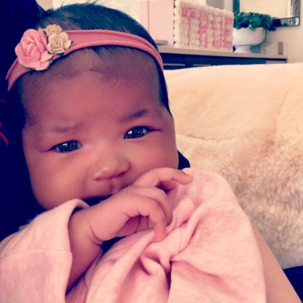 画像1: KhloéさんはInstagramを利用しています:「Baby True 」 www.instagram.com