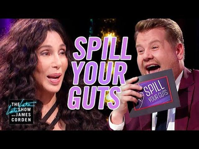 画像: Spill Your Guts or Fill Your Guts w/ Cher #LateLateLondon www.youtube.com