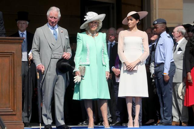 画像: 結婚後初の公務となったチャールズ皇太子のバースデーイベントにて。