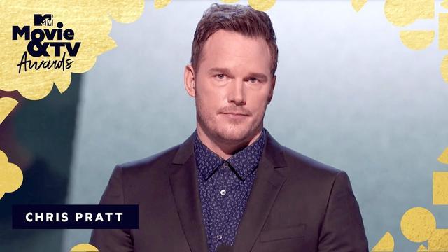 画像: Chris Pratt is Our Generation Award Recipient | 2018 MTV Movie & TV Awards www.youtube.com